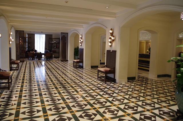 インターコンチネンタルホテルのロビー