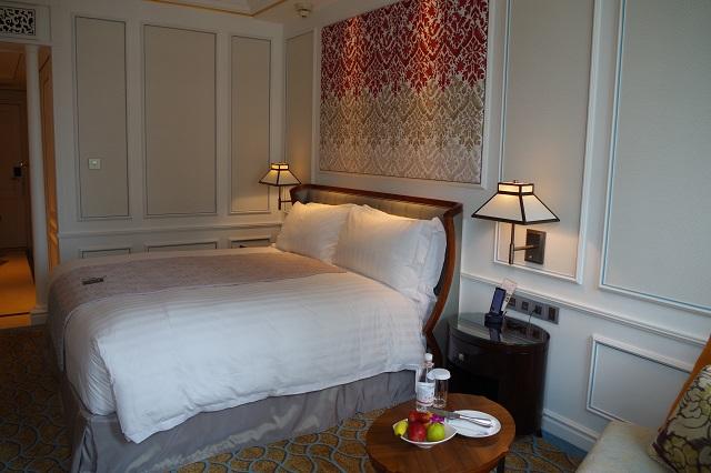インターコンチネンタルホテルの部屋
