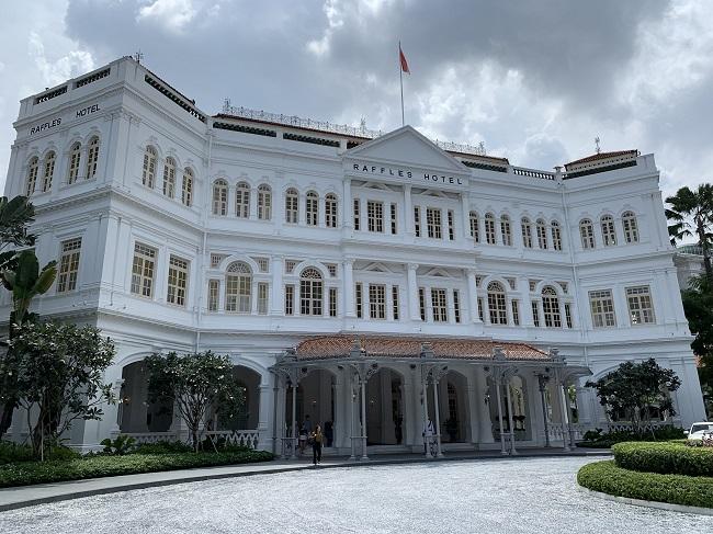 ラッフルズホテルシンガポールのグランドビル