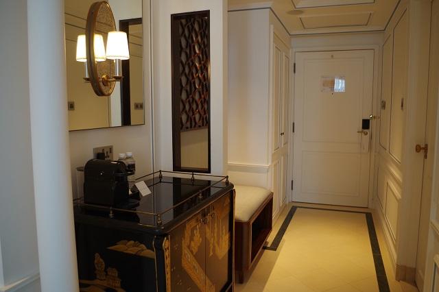 インターコンチネンタルホテルシンガポールの部屋