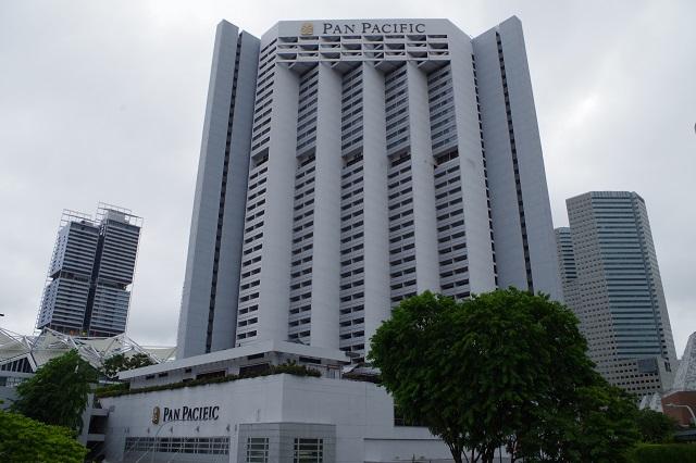 パンパシフィックホテルシンガポール